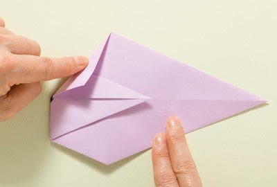 How to fold an origami animal. Origami Mouse - Step 11