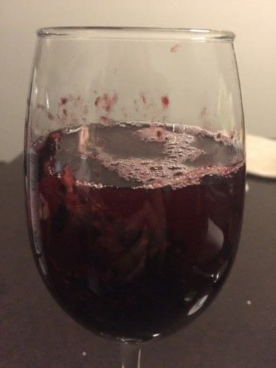 How to mix a sangria. Lazy Girl Blackberry Ginger Sangria - Step 2