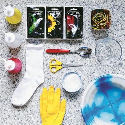 How to make a sock. Carnival Socks - Step 1