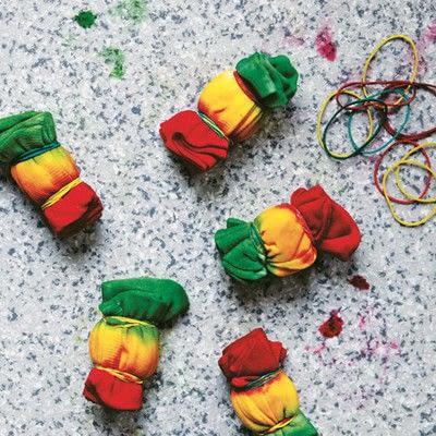 How to make a sock. Carnival Socks - Step 9