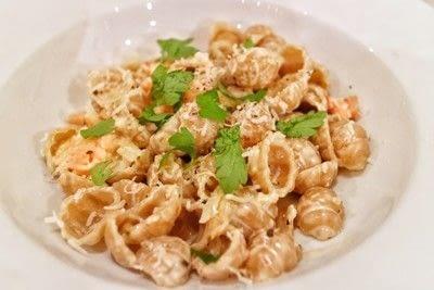 How to cook pasta. Salmon Vodka Pasta - Step 6