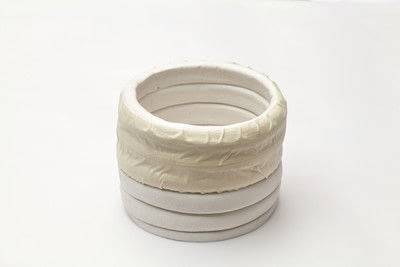 How to sculpt a clay pot. Lidded Coil Pot - Step 17