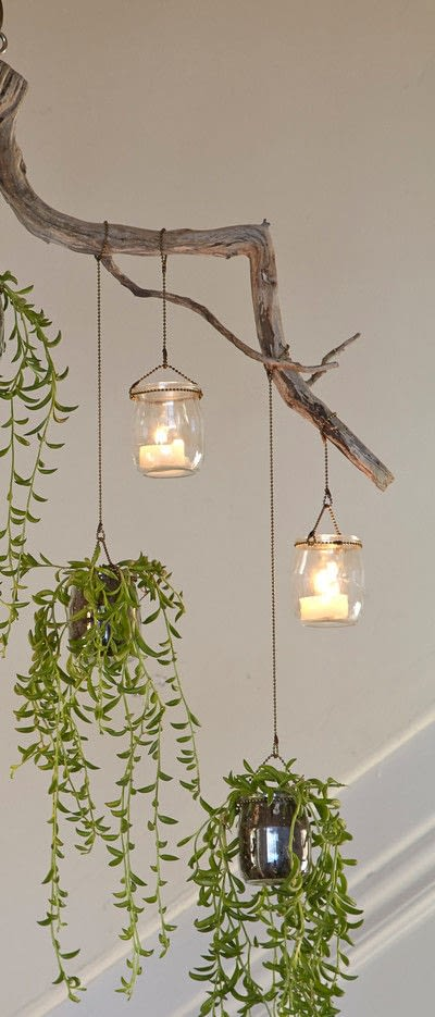 How to plant a plant / a flower / a tree. Planted Chandelier - Step 13
