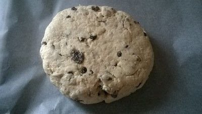 How to bake a no knead bread loaf. Fruity Irish Soda Bread  - Step 4
