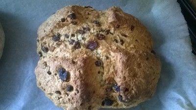 How to bake a no knead bread loaf. Fruity Irish Soda Bread  - Step 6