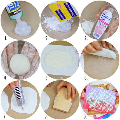 How to make a mixed media. Make Rubber Stamps - Step 2