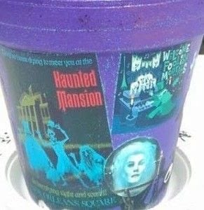 How to create a drawing or painting. Haunted Mansion Painted Pot - Step 3