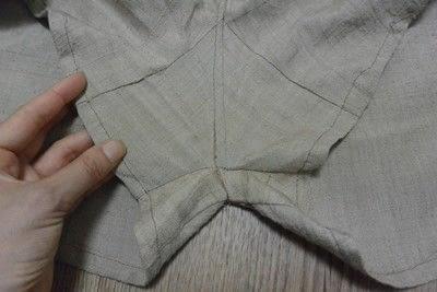 How to sew a romper. Oriental Safari Playsuit - Step 2