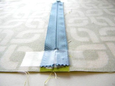 How to make a zipper pouch. Easy Zipper Pouch - Step 3