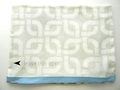 How to make a zipper pouch. Easy Zipper Pouch - Step 6