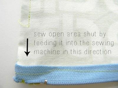 How to make a zipper pouch. Easy Zipper Pouch - Step 7