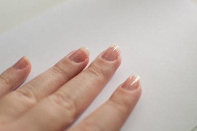 How to paint a marbled nail. Water Marble Nails - Step 1