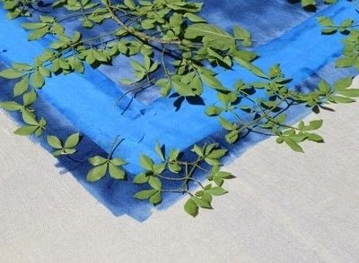 How to make a tablecloth / table runner. Sun Printed Linen Tablecloth - Step 3