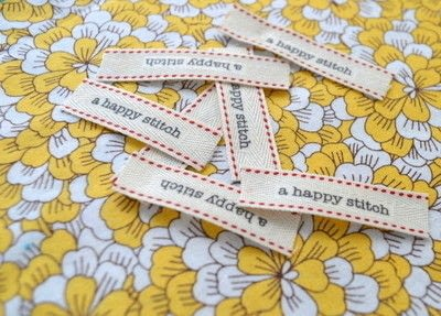 How to make a packaging labels. Make Your Own Sewing Labels - Step 3