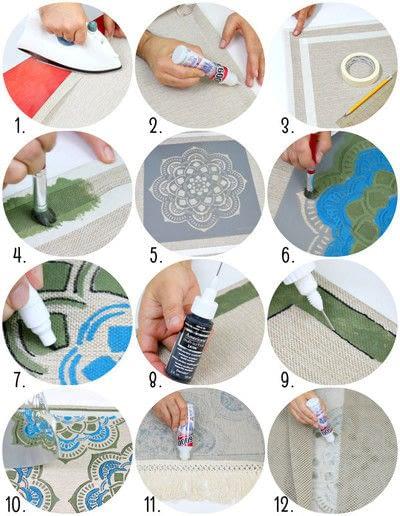How to make a mat/rug. Make A Rug! - Step 3