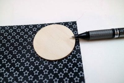 How to make a stud earring. Vinyl Record Stud Earrings - Step 2