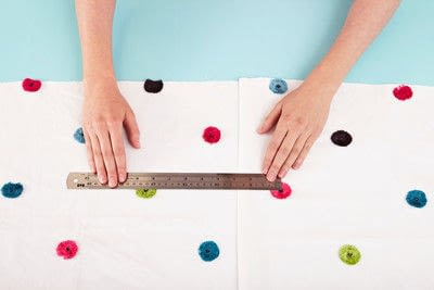 How to make a duvet. Light Bedspread - Step 4