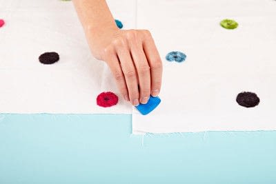 How to make a duvet. Light Bedspread - Step 5