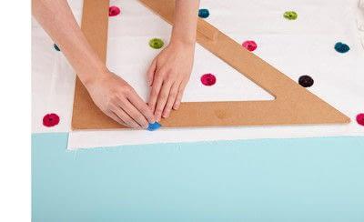 How to make a duvet. Light Bedspread - Step 6