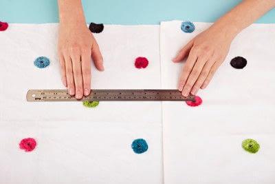 How to make a duvet. Light Bedspread - Step 8