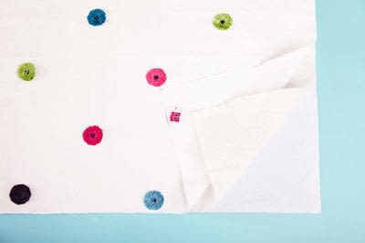 How to make a duvet. Light Bedspread - Step 12