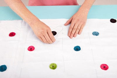 How to make a duvet. Light Bedspread - Step 13