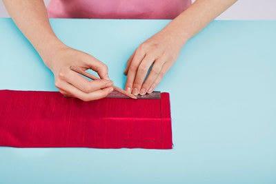 How to make a duvet. Light Bedspread - Step 17