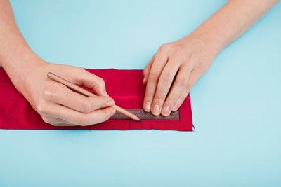 How to make a duvet. Light Bedspread - Step 18