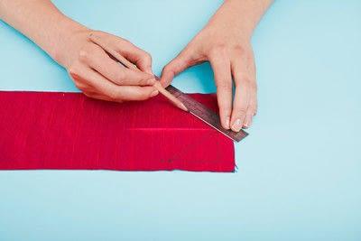 How to make a duvet. Light Bedspread - Step 19