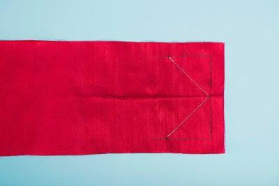 How to make a duvet. Light Bedspread - Step 22