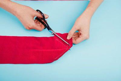 How to make a duvet. Light Bedspread - Step 23