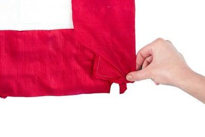 How to make a duvet. Light Bedspread - Step 24