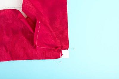 How to make a duvet. Light Bedspread - Step 25