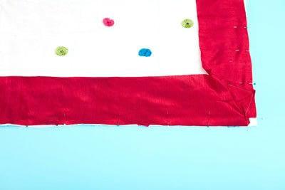 How to make a duvet. Light Bedspread - Step 26