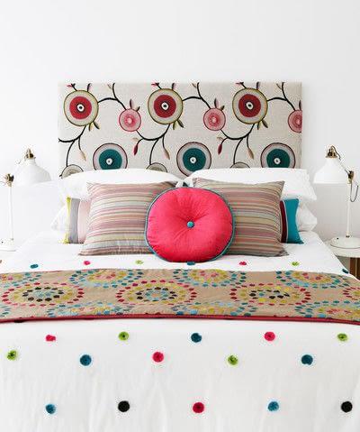 How to make a duvet. Light Bedspread - Step 32