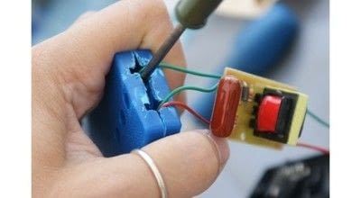 How to make jewelry. Flocking Applicator - Step 8