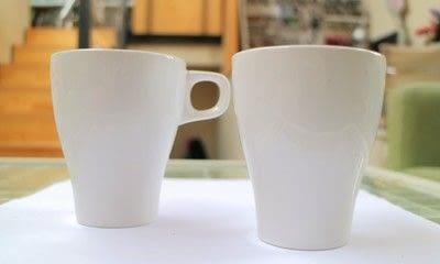 How to make a cup / mug. Bird Mugs - Step 1