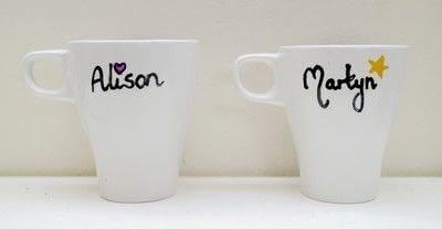 How to make a cup / mug. Bird Mugs - Step 5