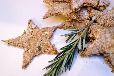 How to bake a cracker. Rosemary Oatcakes - Step 5