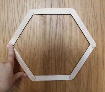 How to make a shelf. Honeycomb Shelf - Step 2