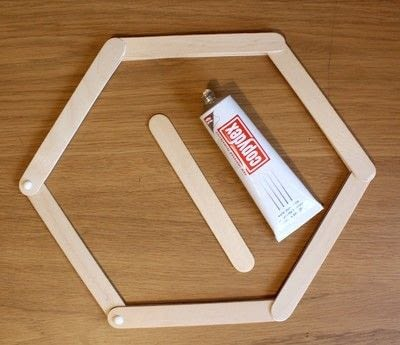 How to make a shelf. Honeycomb Shelf - Step 3