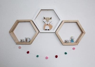 How to make a shelf. Honeycomb Shelf - Step 4