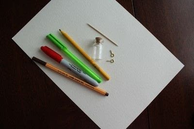 How to make a vial charm. Harry Potter Themed Jar Necklace - Step 1