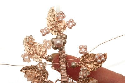 How to make a tiara / crown. Side Tiara - Step 8