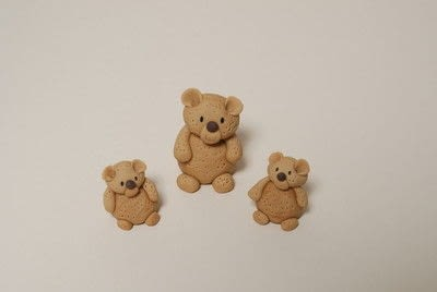 How to decorate a novelty cake. Sugarpaste Teddy  - Step 9