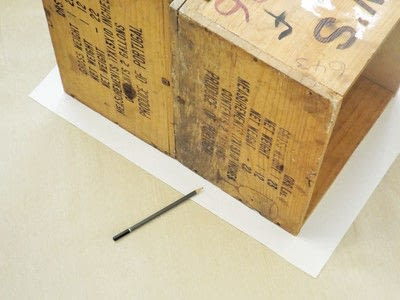 How to make a stool. Wine Crate Stool - Step 1