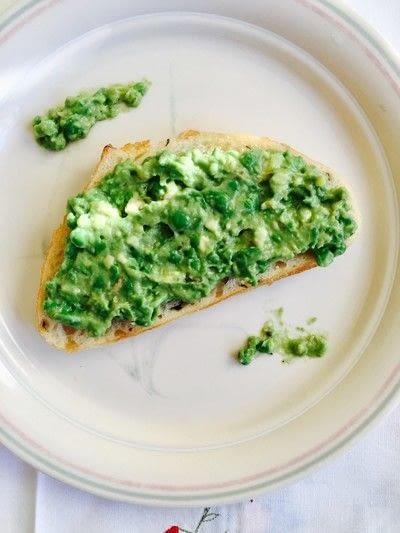 How to cook an avocado toast sandwich. Sweet Pea Avocado Toast - Step 3
