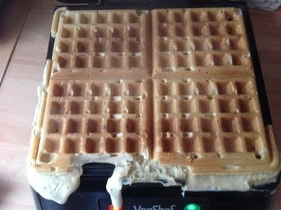 How to cook waffle. Belgian Breakfast Waffles  - Step 7