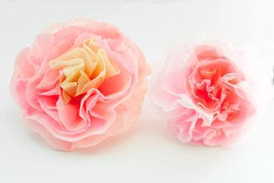 How to make a paper flower. How To Make Paper Peonies - Step 8