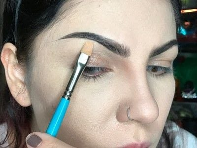 How to makeover an eyebrow. How To Fill Very Sparse Brows  - Step 6